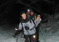Anne So, Marie, Sophie , Andy et moi à La Féclaz