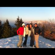 Les Créoles à la montagne